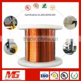 Automatic bonding ultra fine rectangular enameled copper magnet wire for electronic transformer