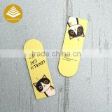 Customized car shaped magnetic bookmarks as stationery gift items for schools kids childrens gifts