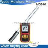 Portable Digital Grain Moisture Meter with Measuring Probe LCD Display Tester for Corn Wheat Rice Bean Wheat Hygrometer