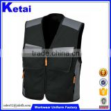Made Of Heavy Duty Canvas Men's Waistcoat Working Tool Vest