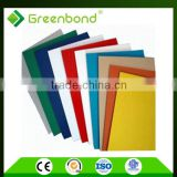 Greenbond 100%new plastic unbroken acp color card