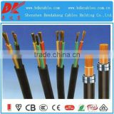 pvc/xlpe insulated pvc sheath steel wire armoured 4mm2 pvc insulated wire 450/750v bvv single core cable