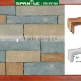 artificial building stones glue on wall panel ,artificial cultured stone,construction materials
