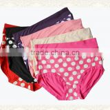 Comfortable Breathable Spandex Underwear fat lady Briefs Wholesale Women Cotton Panty                                                                         Quality Choice