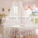 Canopy mosquito net circle round girls bed hanging mosquito net