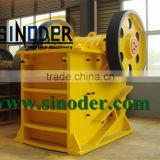 Supply hematite iron ore crusher machine for industrial and mineral rock stone crushing and washing project -- Sinoder Brand