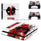 Marvel Deadpool Vinyl Skin Sticker For Sony PS4 Console+2 Controllers Skin Decal 3 ratings