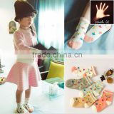 Manufacturers children cute tube cotton socks bubble small umbrella pattern kids cotton tube socks
