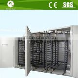 Industrial used automatic poultry chicken incubators/commercial egg incubators for sale