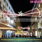 Customize commercial ramadan cross stree LED lighting decoration