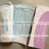 Medical dental sterilization pouch used for package