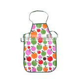 factory pink cotton waterproof printed durable cheap kids apron 2014