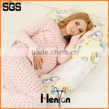 100% Cotton Multifunction pregnancy body pillow