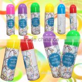 colorful party crazy/ silly string /spray party string/ silly string