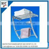 Bathroom hanging towel rack multilayer metal line display rack /wire/new products/prefab homes/china suppliers