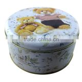 high quality round metal tin gift box wholesale,metal tin made christmas gift boxes,printed wedding gift box candy box