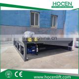Used Warehouse Trailers Goods Loading Dock Leveler 8T Stationary Hydraulic Electric Container Unloading Ramps Price