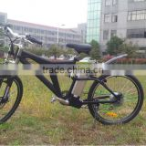 front rear disc brake full suspension best electric mountain bike