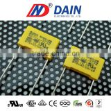 Metallized polypropylene film Intereference Suppression class X2 Used on covert and motor drives 275 ac capacitor