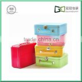 Tin Box Manufacturer Full Color Printing Tin Metal Lunch Box/Metal Lunch Box With Plastic Handle