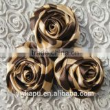 New arrival High Quality factory direct sale cheap china wholesale satin ribbon flower appliques