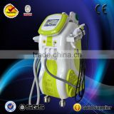 2014 hot sale 5S cavitation ultrasonic lipolysis machine(ipl+elight+rf+cavitation+nd yag laser)