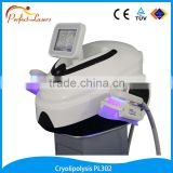 Two Hand piece freezing fat cold Sculpting loss weight machine