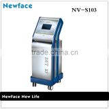 New Face NV-S103 beauty salon equipment radio frequency machine portable body slimming machine	for wrinkle removal