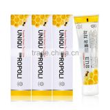 Propolis Extract Toothpaste Set (120g x 4ea) Anti-plague Prevent Tartar deposition Bad Breath Removing Toothbrush Healthy Care