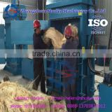 Hydraulic Press Hemp Sisal Fiber Waste Cloth Baler Packing Machine