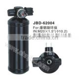 universal steel receiver drier,best price AC Receiver Drier,auto air conditioning filter drier