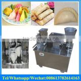automatic traditional Chinese dumpling making machine/delicious spring roll forming machine manufacturer