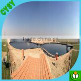 Swimming pool under ground cover/waterproof thick plastic liner/uv resistance woven membrane