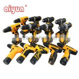12v 16v 18v 20v 21v battery cordless drill hammer impact wrench power