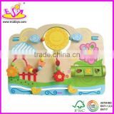 2012 design wooden baby play center,,baby activity toy