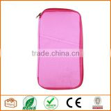 Multi-function Travel Passport Credit Id Card Cash Holder Organizer Wallet Purse Case Bag Pink
