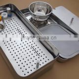 PRF and GRF System Dental Implant Platelet Rich Fibrin, Made of 316L Stainless Steel Dental Implant Instruments Box