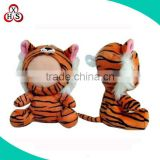 Customized 3d photo face plush doll customized with human face