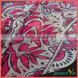 Customize Digital Printed Cotton Bamboo Fabric