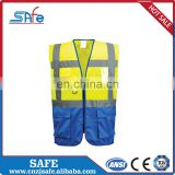 CE safety nylon reflective fabric print vest