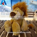 high quality custom plush toy wild lion exquisite sewing plush toy