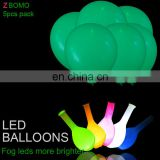 Wholesale led light balloon flash light up glow helium fly party led balloons