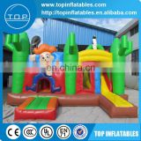 2017 Giant inflatable combo, inflatable jumping bouncer for sale
