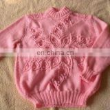 Used wool sweaters for children and adult
