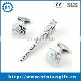 High quality Metal Cufflinks and Tie Clip