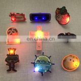 Wholesale Most Popular Hot sales Special Custom Blinking LED Flashing Pin Badge&Custom Button LED Badge&LED Badge