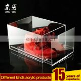 recycled transparent acrylic sports series display case sports shoes box