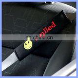 2inch Eco-friendly Cotton LOGO Available Car Seatbelt Cover / Seat Belt Shoulder Pads