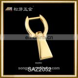 Custom High End Quality PVD Gold Accessory For Clutch And Bag, Zinc Alloy Pvd Gold Metal