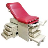 AG-S108 Medical Gynecological Obstetric Examination Table With Storage Drawer